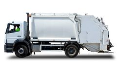 Garbage Truck Stock Photography