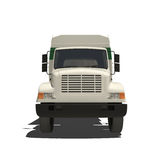 Garbage Truck Isolated Stock Photo