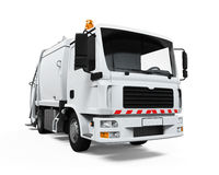 Garbage Truck Isolated Stock Photos