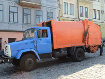 Garbage_truck Royalty Free Stock Photography