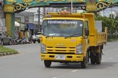 Garbage truck Stock Image