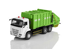Garbage truck Royalty Free Stock Image