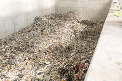 Garbage waste plant Royalty Free Stock Images
