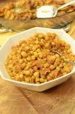 Garbanzo Bean Salad. In a bowl stock photography