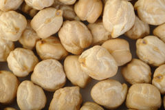 Garbanzo beans background Stock Photography