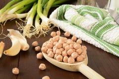 Garbanzo beans Royalty Free Stock Photo