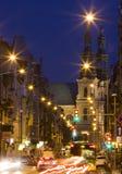 Garbary street in Poznan Royalty Free Stock Photos