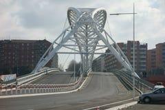 Garbatella-Brücke in Rom lizenzfreies stockfoto