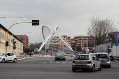 Garbatella bridge in Rome Stock Photography