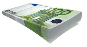 Garbe Euro#2 Stockfotografie