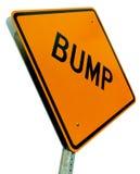garbka wycinanki odosobniony drogowego znaka biel Zdjęcia Stock