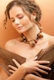 garbnikująca kobieta Zdjęcie Stock