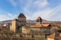 The Garbova fortress. Transylvania, Romania Royalty Free Stock Photos