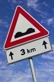 garbu sygnału ruch drogowy Obrazy Stock