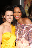Garcelle Beauvais,Carla Gugino Royalty Free Stock Photography