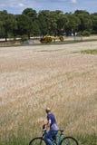 Garching-Notlandung eines ADAC-Hubschraubers mit Stockfotografie