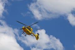Garching-Notlandung eines ADAC-Hubschraubers mit Stockfotos