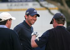 Garcia, Volvo Masters, Valderrama, 2005 Royalty Free Stock Photos