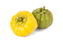 Garcinia Cambogia. Isolated on white background with path Royalty Free Stock Photos