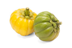 Garcinia Cambogia. Isolated on white background with path Royalty Free Stock Image