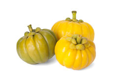 Garcinia Cambogia. Isolated on white background with path Stock Photo