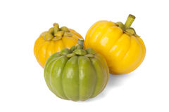 Garcinia Cambogia. Isolated on white background with path Royalty Free Stock Images