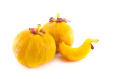 Garcinia Cambogia isolated on white background Stock Images