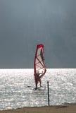 garda湖使系列海浪环境美化 免版税库存照片
