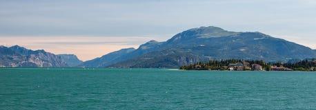 Garda湖在意大利 图库摄影
