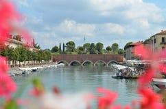 Garda湖 免版税图库摄影