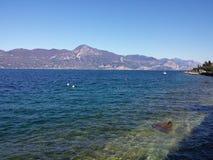 Garda湖 库存图片