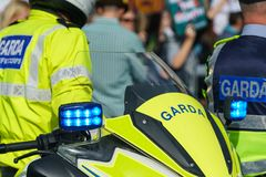 Garda - Irish police officers Stock Images