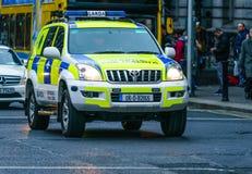 Garda, Irish Police vehicle Royalty Free Stock Images
