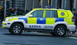 Garda, Irish Police vehicle Royalty Free Stock Photos