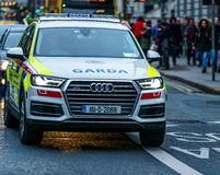 Garda, Irish Police vehicle Stock Images