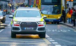 Garda, Irish Police vehicle Stock Photography
