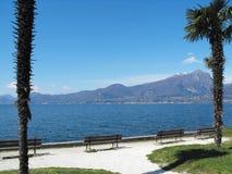 Garda in italy. View of Lake Garda in italy Royalty Free Stock Photos
