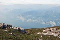 garda jezioro zdjęcie stock
