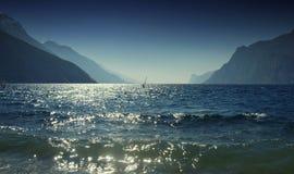 garda jezioro Obrazy Royalty Free