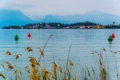 Garda jezioro Zdjęcie Royalty Free