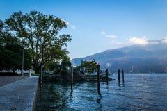 Garda jezioro, Riva Del Garda obraz stock