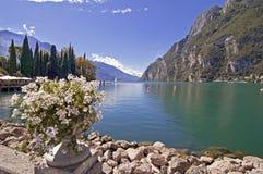 Garda jezioro, Włochy fotografia royalty free