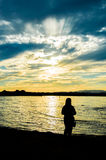 Garda, lago de s Fotografia de Stock