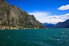 Garda lago di Zdjęcie Royalty Free