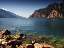 Garda lago di Obrazy Stock