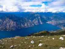 Garda lago di Obraz Stock