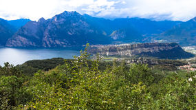 Garda lago di Obraz Royalty Free