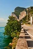 Garda Lake. Garda Lake west coast, Italy Stock Photography