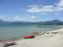 Garda Lake Royalty Free Stock Photo