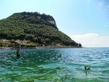 Garda lake Fotografering för Bildbyråer